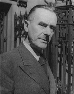 Tomas Manas 1937 metais.