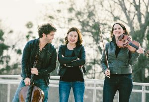 """Svečiai iš Austrijos """"Trio Alba""""."""