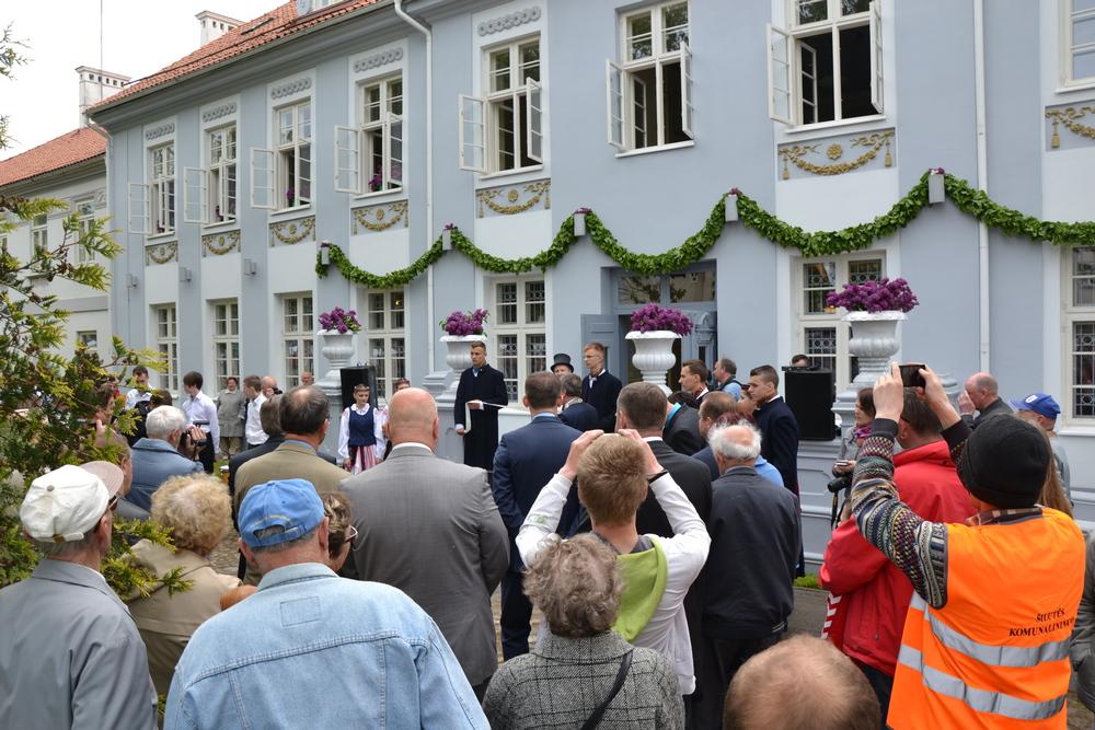 Muziejaus H.Šojaus dvare atidarymo iškilmės 2015 m. gegužės 30 d.