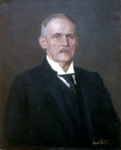 Muziejaus pradininkas dr. H.Šojus.