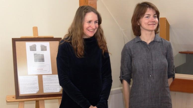 Eglė Čėjauskaitė-Gintalė (kairėje)  ir Jurgita Erminaitė-Šimkuvienė (dešinėje).