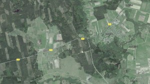 Iš paukščio skrydžio. Google maps.
