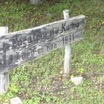 Senosios Žagatpurvių kapinės.