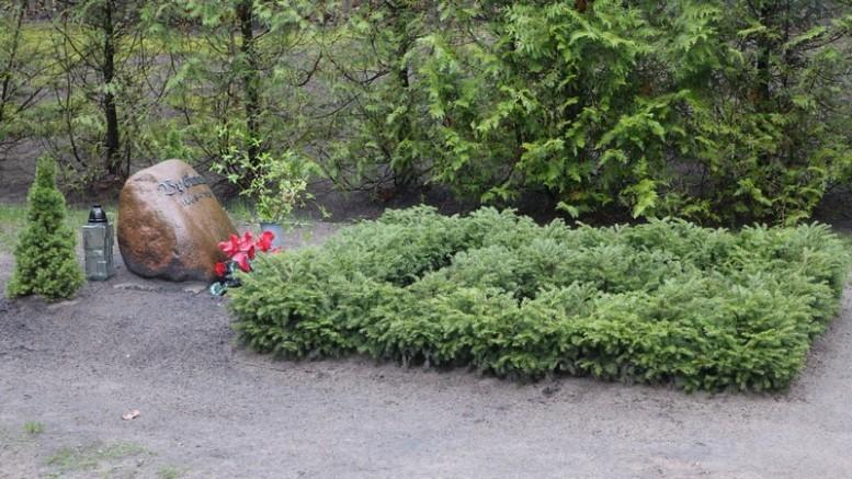 Vydūno kapas Bitėnų kapinaitėse.