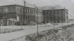 Švėkšnos ligonine. 1956 m. spalio mėnuo.