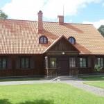 Profesorių Biržiškų gimtasis namas.