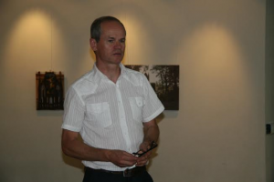 Kaišiadorys. Muziejaus direktorius  O. Lukoševičius.