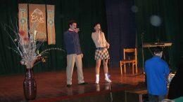 """2005 metų """"Vėjopatyje"""" dainuoja Valdas Lacko ir jo sesuo."""