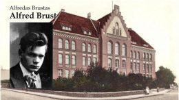 A.Brustas ir Tilžės gimnazija.