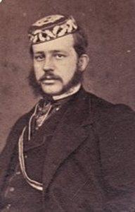 1863 A.Kitelis Karaliaučiau studentų korporacijos Germania narys.