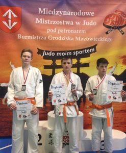 Iš kairės: Giedrius Eidukis, Uosis Knapkis ir Matas Gerulskis.