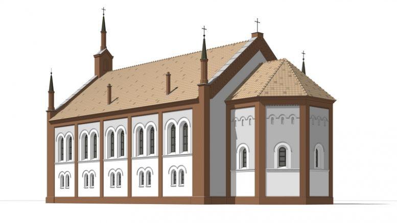 Architekto Aurimo Širvio Verdainės bažnyčios rekonstrukcija.