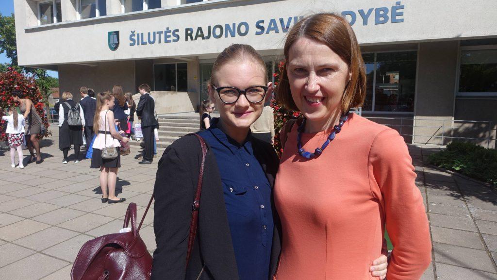 G.Gudaitytei ir jos mokytojai V.Galinskienei buvo padėkota už šiuos pasiekimus Šilutės rajono savivaldybėje.