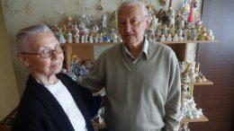 Orieji miestiečiai Genovaitė ir Henrikas Bundorfai.