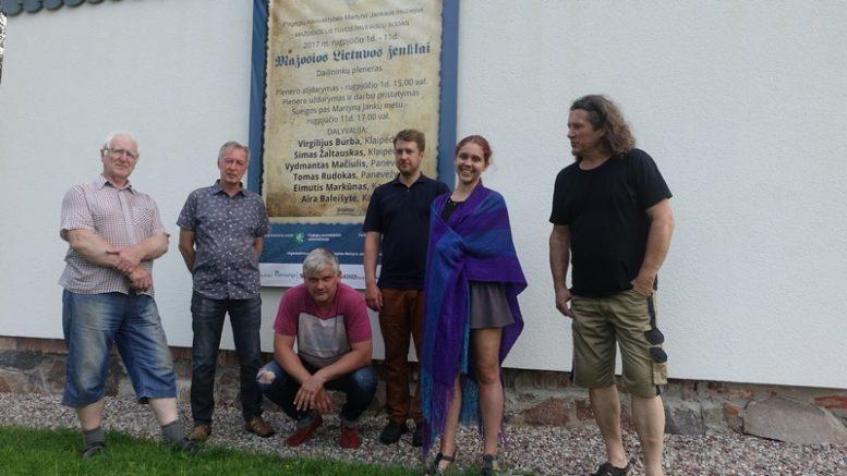 Iš kairės: V.Burba, V.Mačiulis, T.Rudokas, S.Žaltauskas, A.Baleišytė ir E.Markūnas.