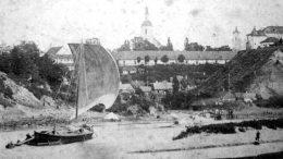 Vytinė grįžtas iš Karaliaučiaus pro Gardiną 1884 m. Iliustracija iš interneto platybių.