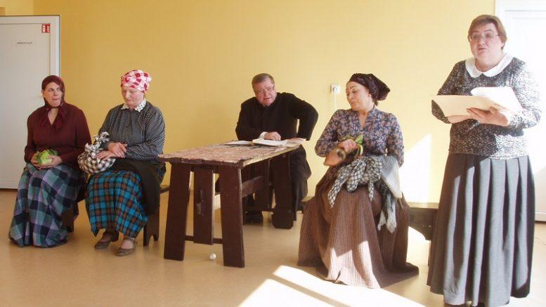 Tarptautinė teatro diena Pašyšiuose.