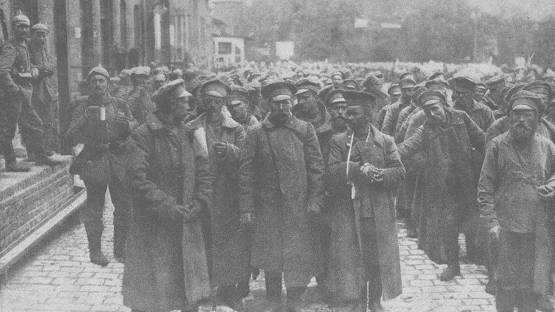 Pirmasis pasaulinis karas. Kariai Tilžėje.