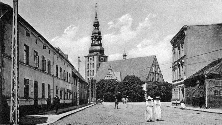 Tilžė 1905 metais.