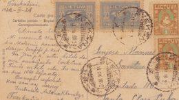Unikalus eksponatas: istorinis esperanto kalba 1928 metais iš Švėkšnos siųstas atvirukas.