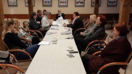 Mažosios Lietuvos etnografinio regiono herbo kūrimo darbo grupės posėdis.