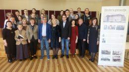 Konferencijos apie J. G. Herderį dalyvių nuotrauka atminčiai.