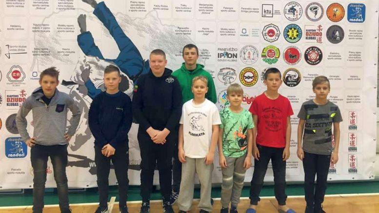 Šilutės sporto mokyklos auklėtiniai pirmajame NDA čempionate.